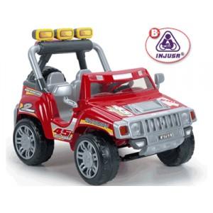 Injusa Two Evasion Jeep 12v 2 Motors