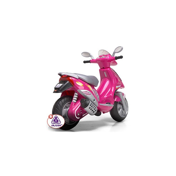 Injusa Scooter Duo 6v Pink
