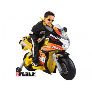 Feber Mega Racing Bike 6v Motorcycle