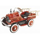 Kalee Deluxe Fire Truck Pedal Car Red