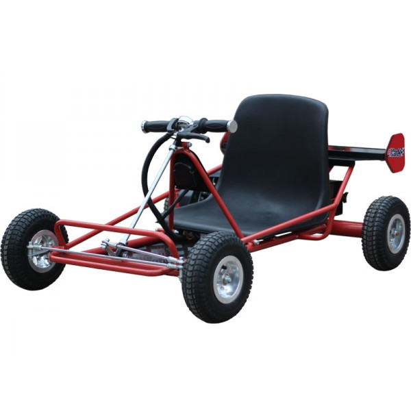 mototec solar electric go kart 24v red. Black Bedroom Furniture Sets. Home Design Ideas