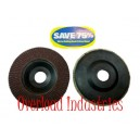 4-1/2 inch Overload Industries flap disc 120 grit