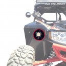 Fender well LED Pod Mount Brackets for Arctic Cat Wildcat