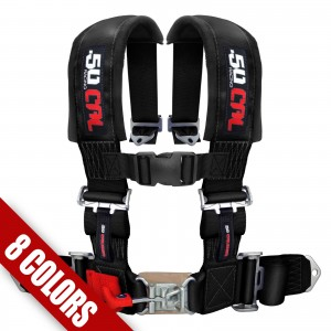 "2"" 4 point Harness Seat Belt 50 Caliber Racing"