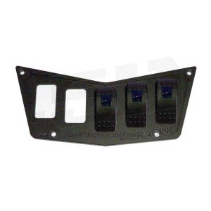 5 Switch Dash Panel Black